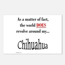 Chihuahuas World Postcards (Package of 8)