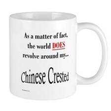 Chinese Crested World Mug