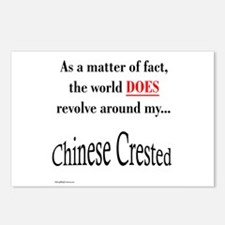 Chinese Crested World Postcards (Package of 8)
