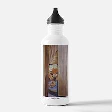 Peek-A-Boo a shirt Sports Water Bottle