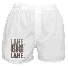 Lake. Big Lake Boxer Shorts