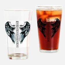 bigtotalwhitebgwingstower Drinking Glass