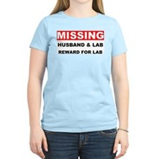 Missing Husband Lab T-Shirt