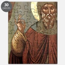 Byzantine icon of St. Anthony. It comes fro Puzzle