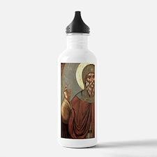 Byzantine icon of St.  Water Bottle