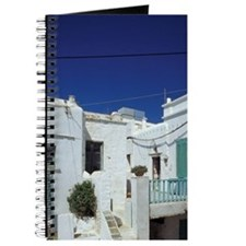 Houses and decorationsds, Folegandros, Cho Journal