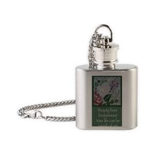 Beauty from brokenness Flask Necklace