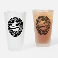 Nuclear wessels Drinking Glass
