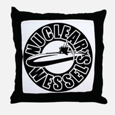 Nuclear wessels Throw Pillow