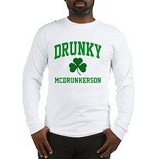 Drunky M Long Sleeve T-Shirt