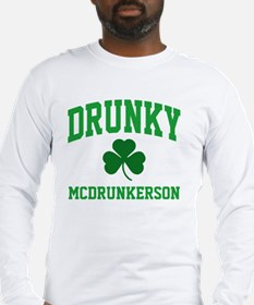Drunky M Long Sleeve T-Shirt