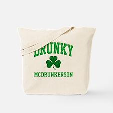Drunky M Tote Bag
