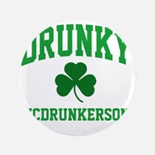 "Drunky M 3.5"" Button"