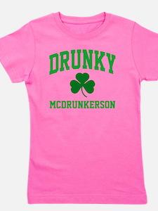 Drunky M Girl's Tee