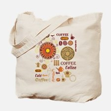 Coffee Cafe Tote Bag