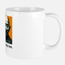 Live simply (white) Mug