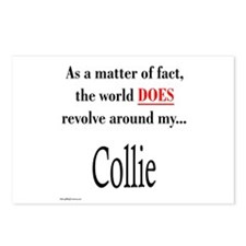 Collie World Postcards (Package of 8)