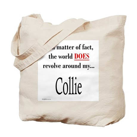 Collie World Tote Bag