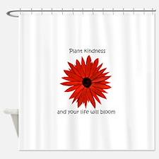 Plant kindness flower Shower Curtain