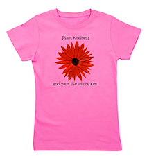 Plant kindness flower Girl's Tee