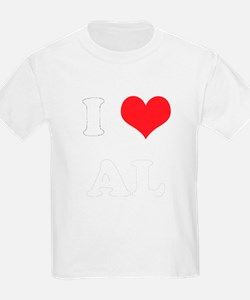 I Heart AL Kids T-Shirt
