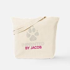 Imprinted Pink -dk Tote Bag