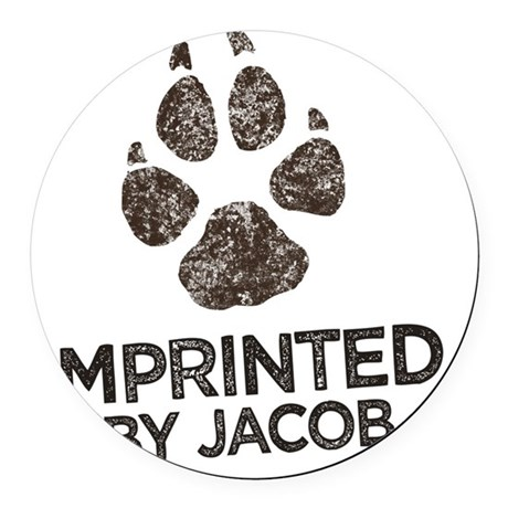 Imprinted Round Car Magnet