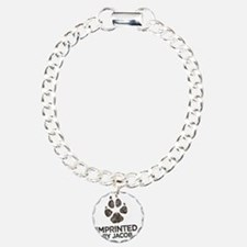 Imprinted Charm Bracelet, One Charm