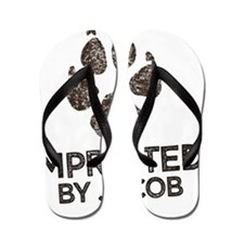 Imprinted Flip Flops