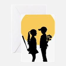 lover girl Greeting Card