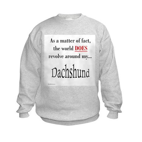Dachshund World Kids Sweatshirt