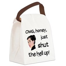 shuthellup Canvas Lunch Bag