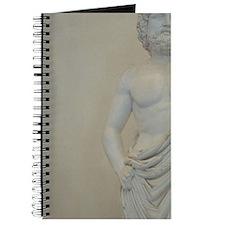 Greek Art. Statue of Asclepius God of Medi Journal
