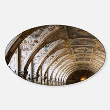 Vaulted ceiling of the Antiquariume Decal