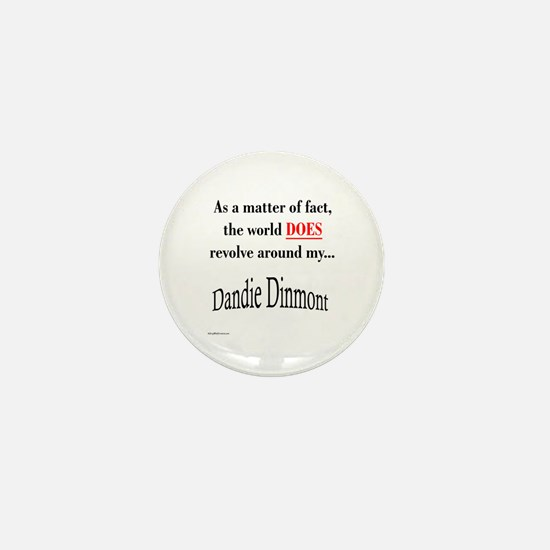 Dandie World Mini Button