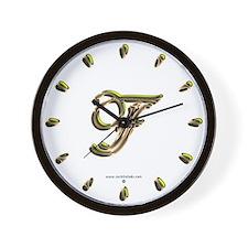 Phyllis Initial F Wall Clock