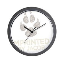 Imprinted -dk Wall Clock