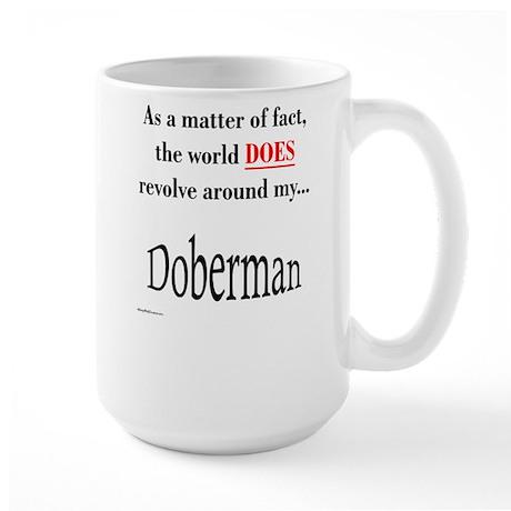 Dobie World Large Mug