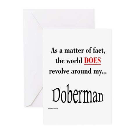 Dobie World Greeting Cards (Pk of 10)