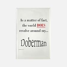 Dobie World Rectangle Magnet