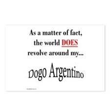 Dogo World Postcards (Package of 8)