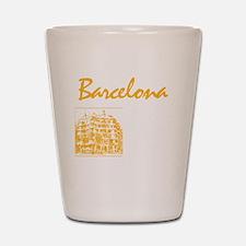 Barcelona_7x7_apparel_CasaMila_ParcGuel Shot Glass