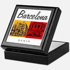 Barcelona_7x7_Bag_CasaMila_ParcGuell Keepsake Box