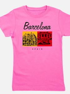Barcelona_7x7_Bag_CasaMila_ParcGuell Girl's Tee