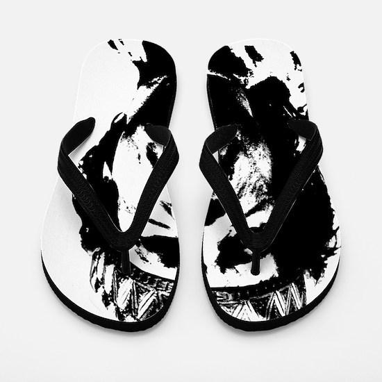 gaddafi-transparent Flip Flops