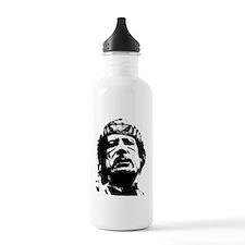 gaddafi-transparent Water Bottle