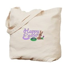 Happy Easter Bunny (2) Tote Bag