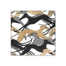 "FrescoHounds Square Sticker 3"" x 3"""