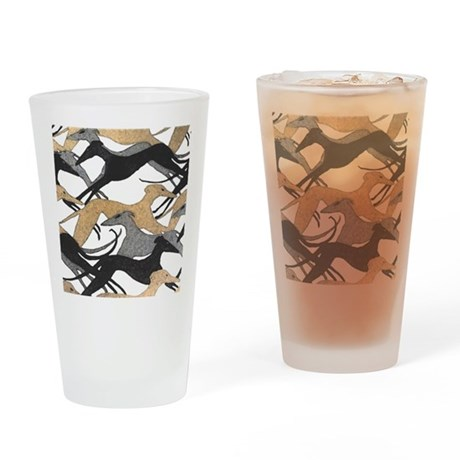 FrescoHounds Drinking Glass