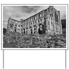 Ruins of Rievaulx Abbey Yard Sign